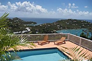 unwind together at Windcrest Villa on St. John